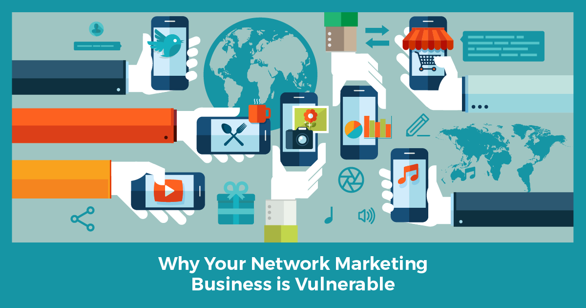 Why your network marketing business is vulnerable if you do not build online